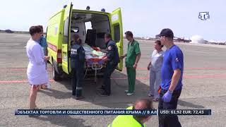 Борт МЧС доставит троих детей в Москву на лечение