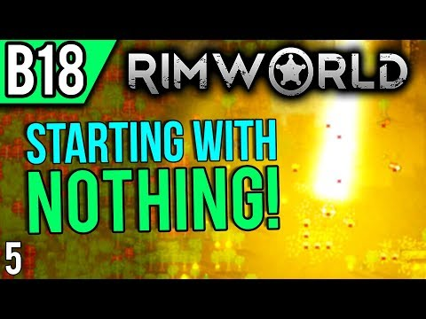 RimWorld Beta 18   New Blight and Inspiration (Let's Play