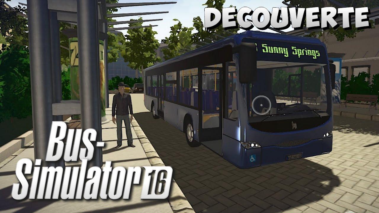 bus simulator 16 d couverte un jeu acheter youtube. Black Bedroom Furniture Sets. Home Design Ideas