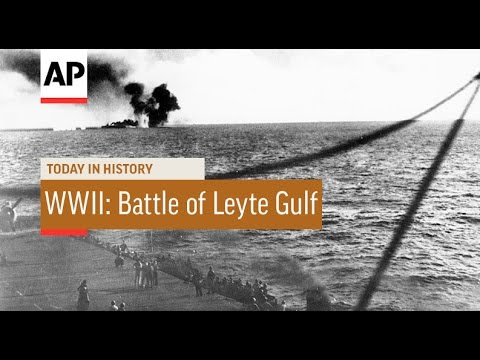 WWII: Battle of Leyte Gulf - 1944 | Today in History | 23 Oct 16
