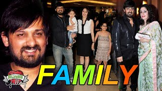 Wajid Khan  Rip  Family With Parents, Wife, Son, Daughter & Brother