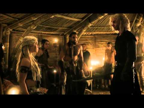 Khal Drogo Killing Viserys - A Crown For A King - Game of Th