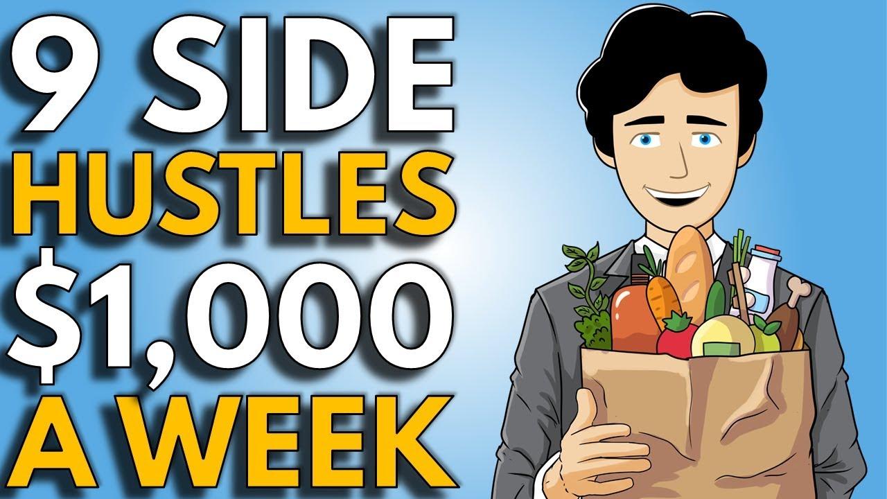 9 Best Side Hustle Ideas To Make Money | How To Start A Side Hustle