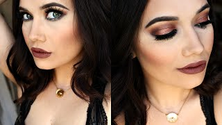 Holiday Makeup Tutorial | ABH Self Made Palette