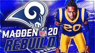 Rebuilding The LA Rams | ✅ Jalen Ramsey ❌ Jared Goff | Madden 20 Franchise Mode