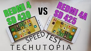 Snapdragon 430 vs 425 SPEED Test/Gaming/Benchmark/Comparison/Games/Apps(Adreno 505 vs 308)GPU/CPU