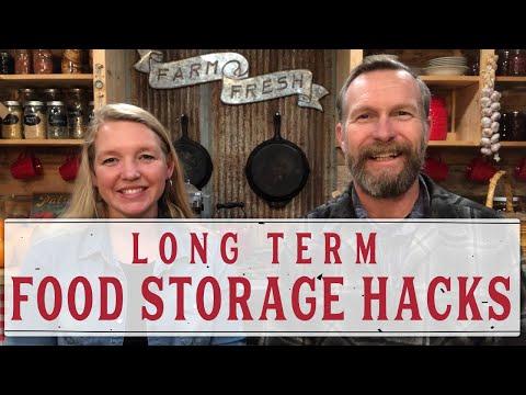 LONG TERM FOOD STORAGE HACKS - PANTRY CHAT #30