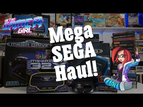 Mega SEGA Haul Game Pickup in Australia | Retro Gamer Girl