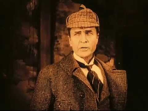 William Gillette as Sherlock Holmes   video