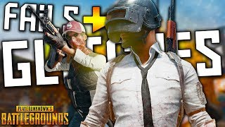PUBG FAILS & GLITCHES (Battlegrounds Funny Moments Compilation)