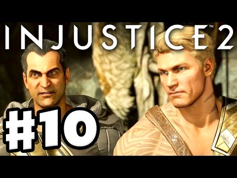 Injustice 2 - Gameplay Part 10 - Aquaman & Black Adam! Chapter 10: Three Kings! (Story Mode)