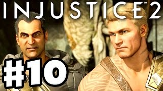 Injustice 2 - Gameplay Part 10 - Aquaman & Black Adam! Chapter 10: Three Kings! (Story Mode)