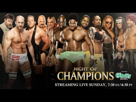 Night of Champions 2013 Kickoff - Tag Team Turmoil No. 1 Con