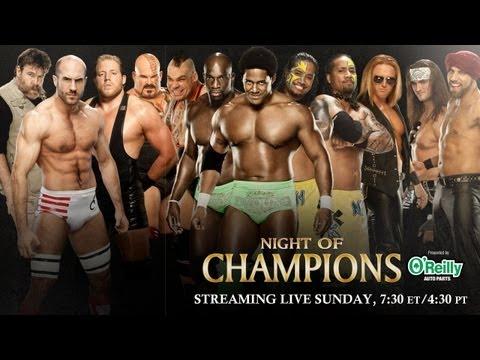 Night of Champions 2013 Kickoff - Tag Team...