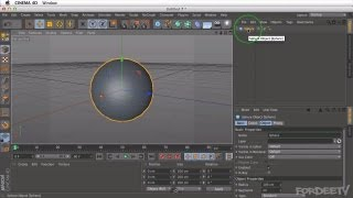 Cinema 4D Tutorial - Intro To Cinema 4D (Overview) - Part 1