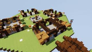 Hypixel Skyblock Island Revamp Time-lapse