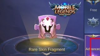 How to get Rare Skin Fragments Fast in Mobile Legends | Requested