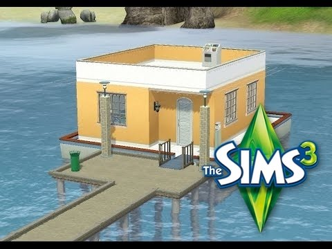 les sims 3 r novation d 39 une maison flottant youtube. Black Bedroom Furniture Sets. Home Design Ideas
