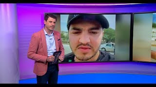 بث حي عبر فيسبوك ينقل اعتداء شرطي على فنان كوميدي مغربي ويحدث استنكارا واسعا