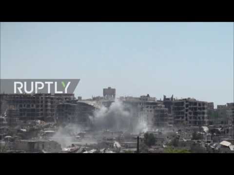 Syria: SAA seizes more militant positions in battle for east Damascus