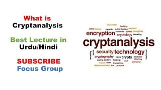#1 What is Crypt Analysis | Network Security | Lecture 5 in Urdu/Hindi