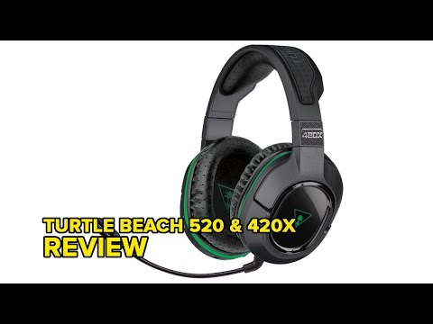 Turtle Beach Ear Force 520 and 420X Review - YouTube