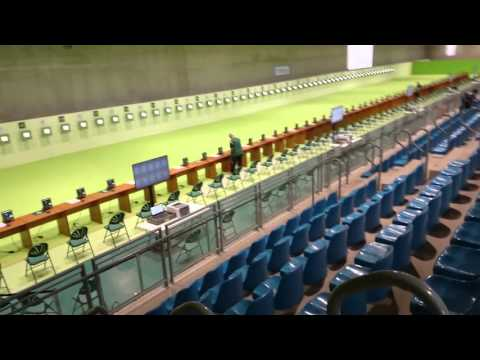 Rio Olympic Shooting range