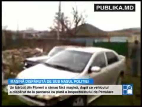 SURPRIZĂ pentru un şofer din Anenii Noi! Maşina bărbatului a dispărut din parcarea INP