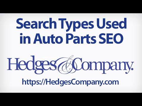Auto Parts Marketing: 6 Search Types to Know for Auto Parts SEO & PPC