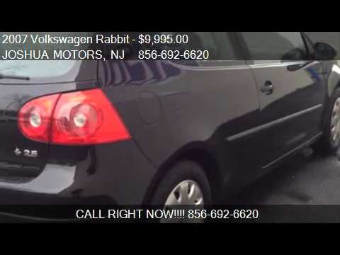 2007 volkswagen rabbit 2 door for sale in vineland nj for Joshua motors vineland nj