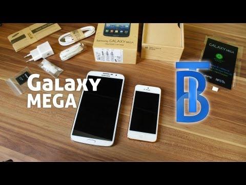 Unboxing: Samsung Galaxy Mega 6.3 (White/Weiß) [German/Deutsch]