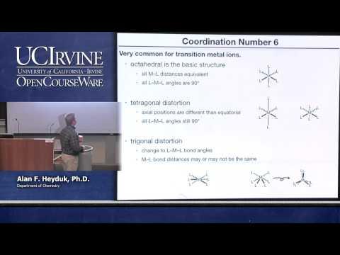 Chemistry 107. Inorganic Chemistry. Lecture 22.