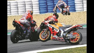 Download Video MotoGP 2018 Crashes MP3 3GP MP4