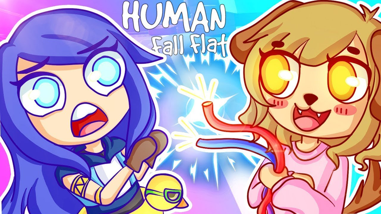Human Fall Flat - SHE'S TRYING TO KILL US! w/ Gloom (Funny Moments)