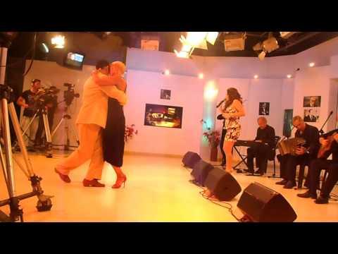 Gustavo Sorel y Nancy Brega con NAYLA DANCHUK