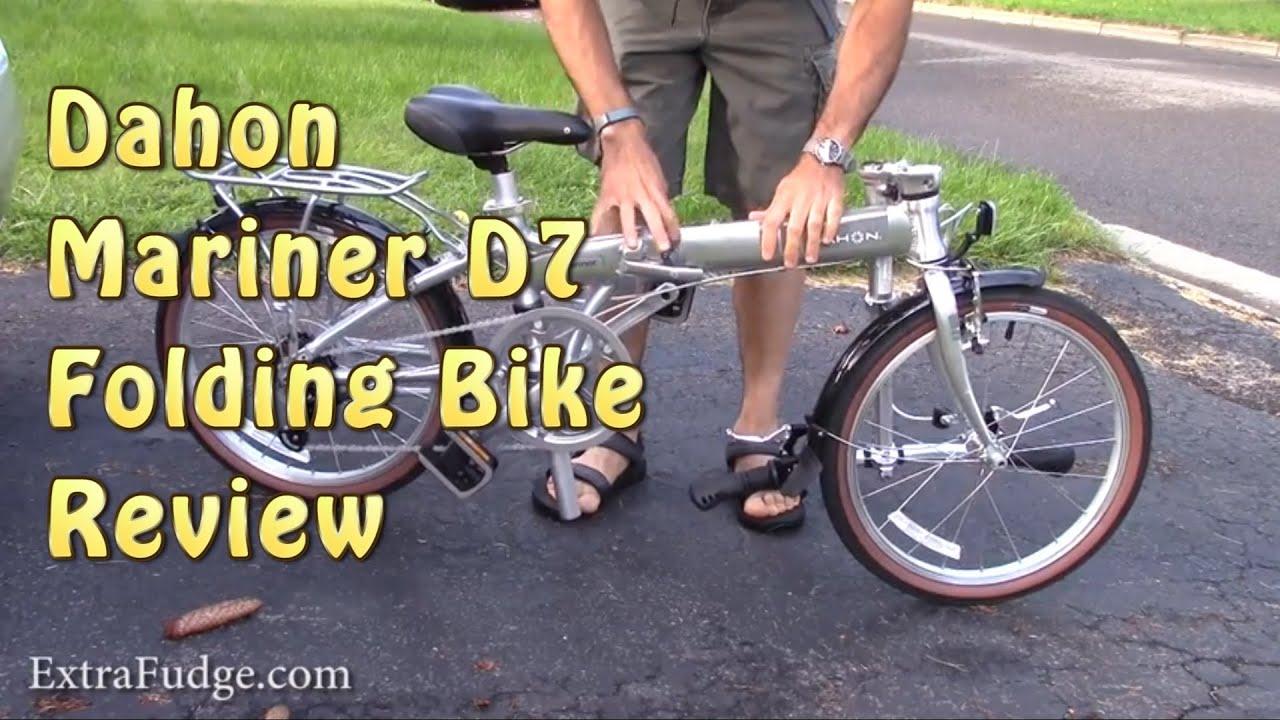 Dahon Mariner D7 Folding Bike Review | Doovi