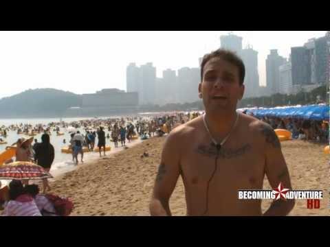 Adventure #25  in South Korea: Haeundae Beach