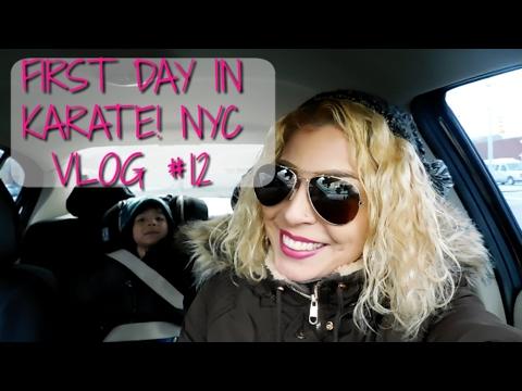 MANHATTAN MOMS | FIRST DAY IN KARATE! | NYC VLOG 12 | LULU AND ARAM