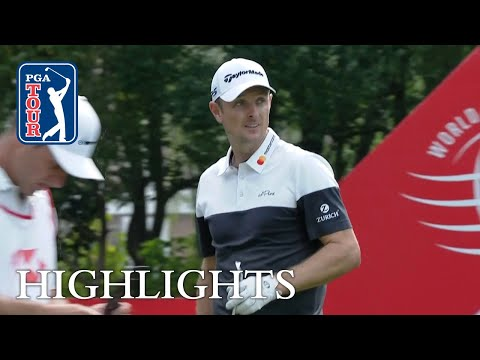 Justin Rose's highlights | Round 2 | HSBC Champions 2018