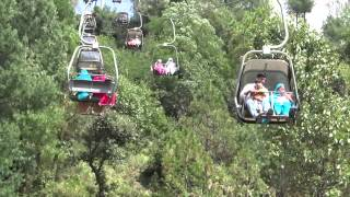 Rain on Motorway Murree Patriata Cable Cars and Chair Lifts 7 - 8 July 2012  Pakistan