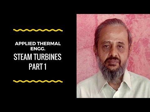 Karnataka Diploma Applied Thermal engg  - Steam Turbines  - Part 1