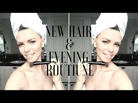 New Hair & Evening Routine | Nowa Fryzura I Wieczorna Pielęgnacja | Beata M