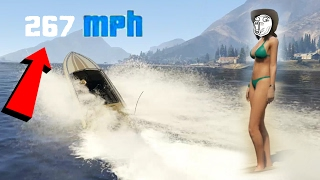 GTA 5 | FASTEST BOAT EVER?! X1000 HORSEPOWER