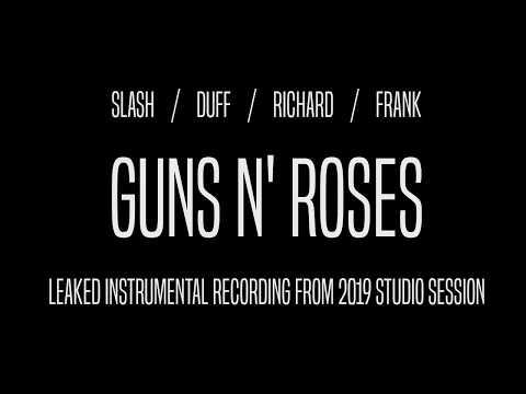 Guns N' Roses New Song Leak 2019 (Studio Recording, No Vocals)
