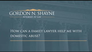 How can a family lawyer help me with domestic abuse? | Colorado Springs Family Law