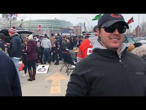 NFC Wild Card Philadelphia Eagles At Chicago Bears Tailgate