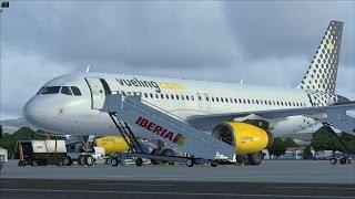 [FSX] Malpensa to Palma de Mallorca (Airbus A320)