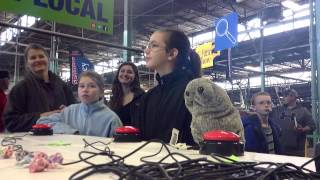 UNCLE TEDDY PUPPET Attends PA Farm Show (Home of Legen..wait for it...dairy Milkshakes)
