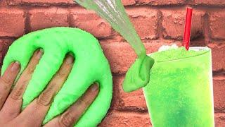 Slushy Slime selber machen - SCHLEIM ALS GETRÄNK? 😱