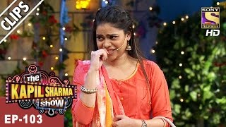 Sarla's Funny Introduction To Sunidhi Chauhan & Hitesh - The Kapil Sharma Show - 6th May, 2017
